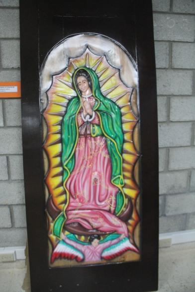 2do. Carlos Vela del Centro Penitenciario de Penonomé (tallado en madera)