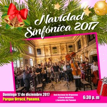 Invitación Navidad Sinfónica-Panamá
